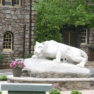Nittany Lion Shrine at Hazleton campus