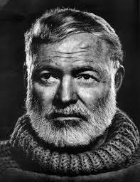 """Portrait of  Earnest """"Papa"""" Hemingway"""
