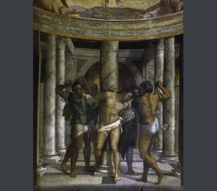 Christ at the Column, Piombo