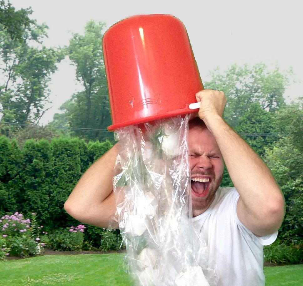 keeping with our rcl theme the ice bucket challenge