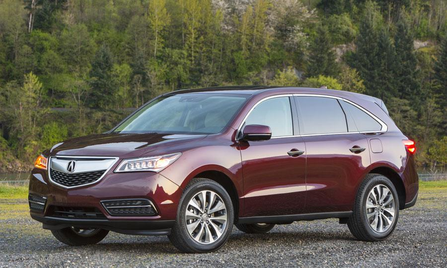 2017 Nissan Rogue Acura Mdx Suv Ers Guide