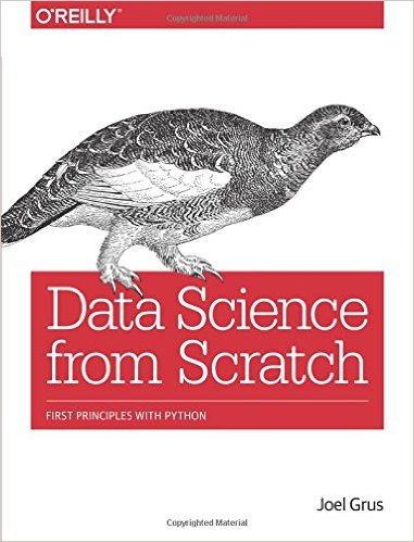 Book Review Data Science From Scratch