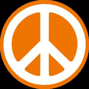 hippy_groovy_peace_symbol_sticker_dark_orange_2-999px