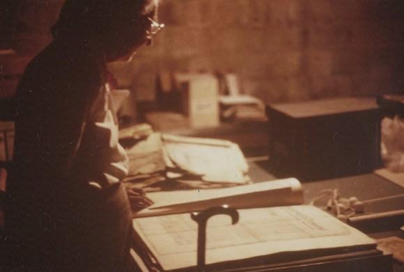 A Pic Rebecca Gross basement  1985 Jun 7