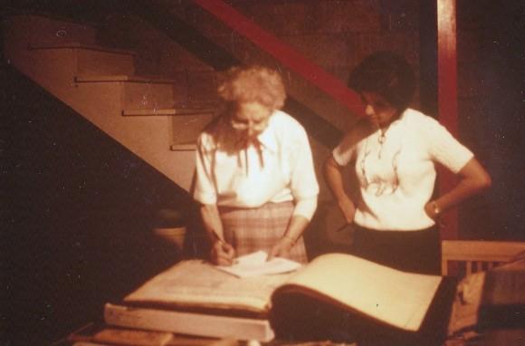 C Pic 1985 Slide # 55 Rebecca Gross & Beck Jun 7 1985