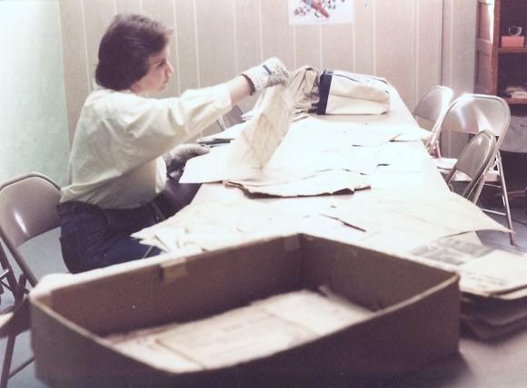 D Pic 1985 Other Sep 25 1985 Sue cataloging Spalding Mem Lib