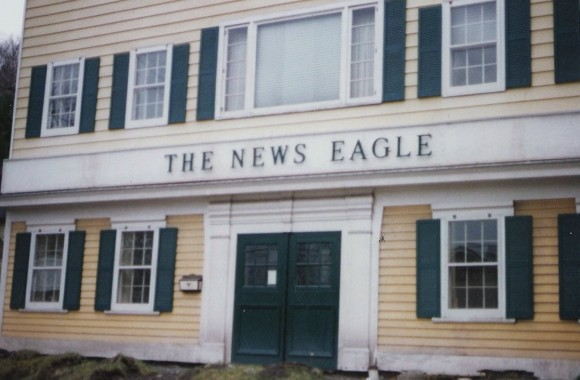 O Pic 1987 Wyane Co News Eagle Office bldg Apr 9 1987