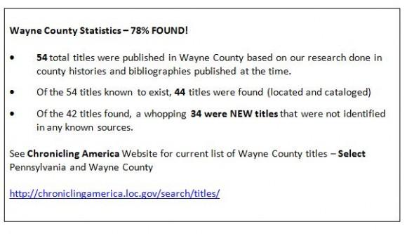 Wayne County Stats Snip Capture