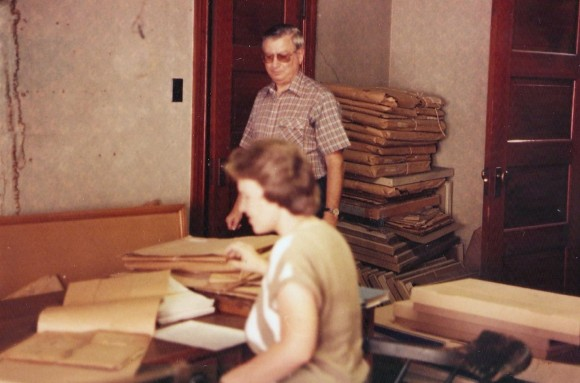 K Pic Norry Co Kauffman Lib 3rd floor Sep 6 1985