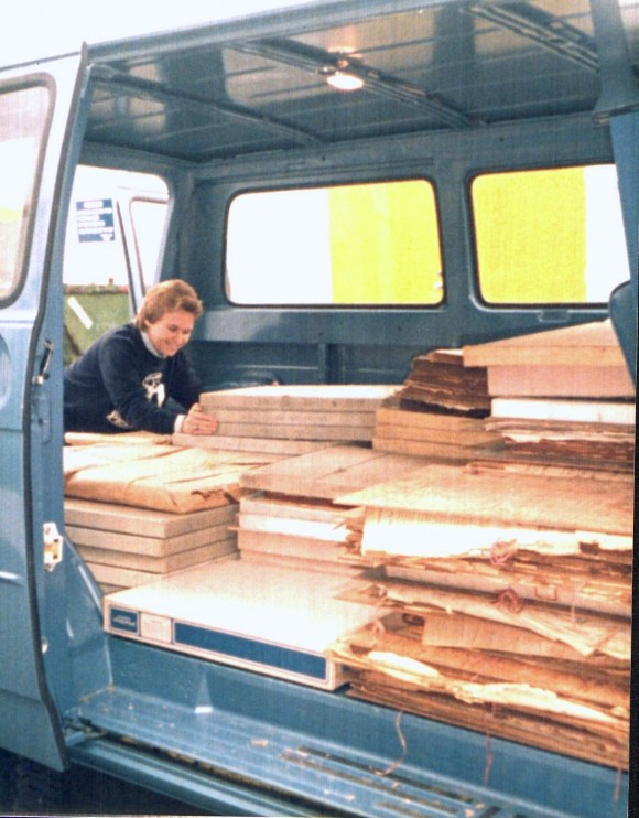 U Pic Sue loading the van