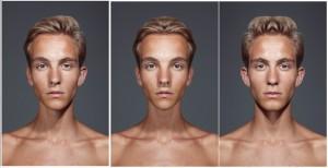 real-portrait-left-side-symmetrical-right-side-symmetrical