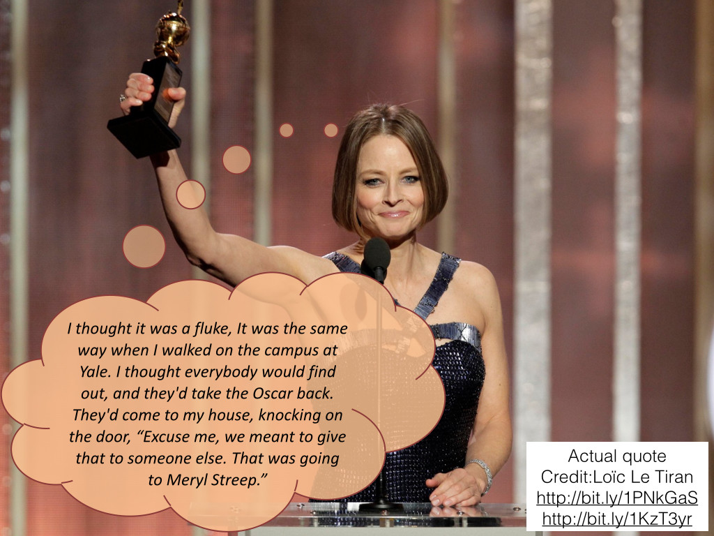 Jodie Foster, winner of 2 Oscars