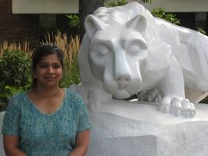 Photo of self at PSNK