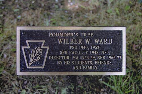 Founders Tree Plaque