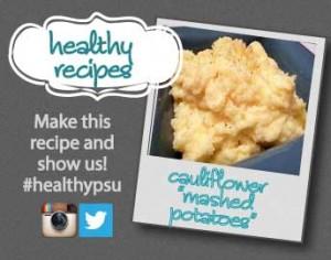 cauliflower mashed potatoes recipe