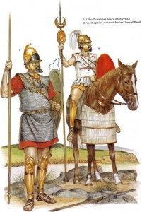 zama carthaginian soldiers