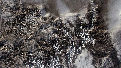 Rocky Mountain National Park on Jan. 26, 2015,