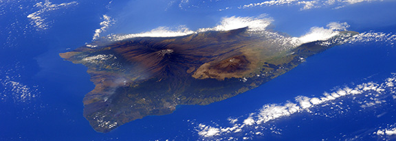 the island of Hawaii