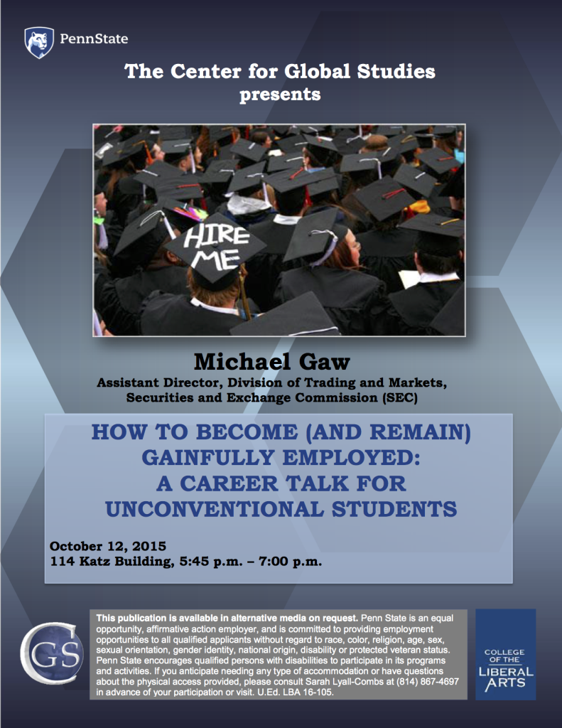 Michael Gaw flyer copy