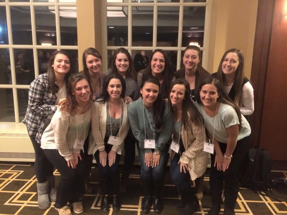 Catherine and Sigma Kappa's current Executive Board