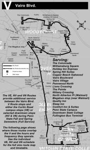 v bus map