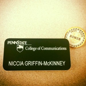 Representing the College of Communications.
