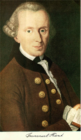 Portrait of Immanuel Kant