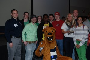 ELS, third place, 2013 Penn State Rube Goldberg Regional Contest