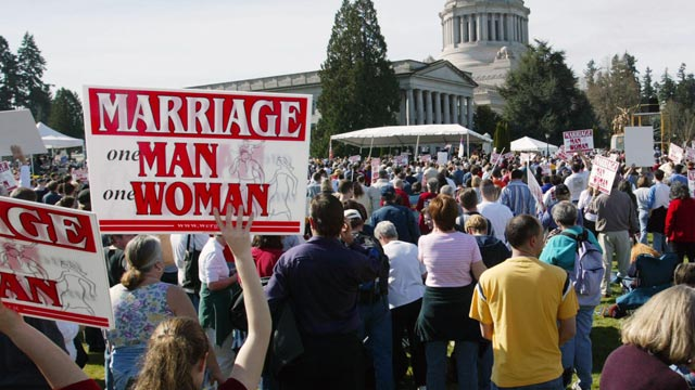 Issues against same sex marriage
