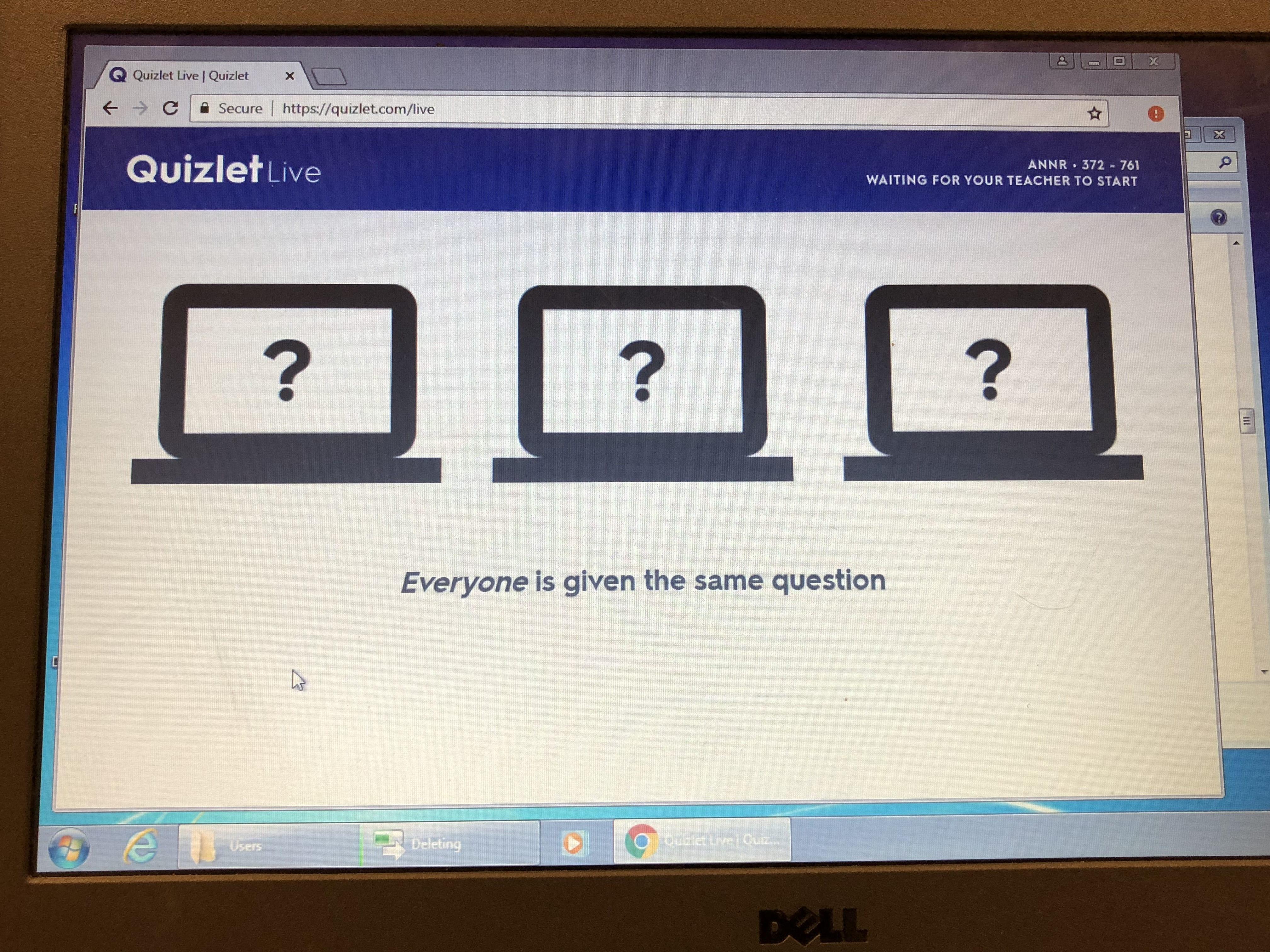Quizlet Live!   Grisham Middle School