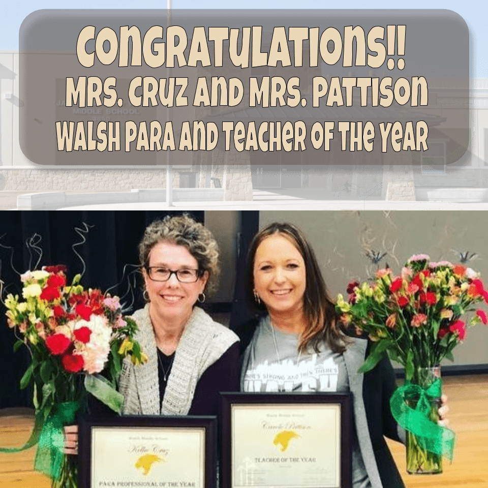 Teacher and Para of the Year