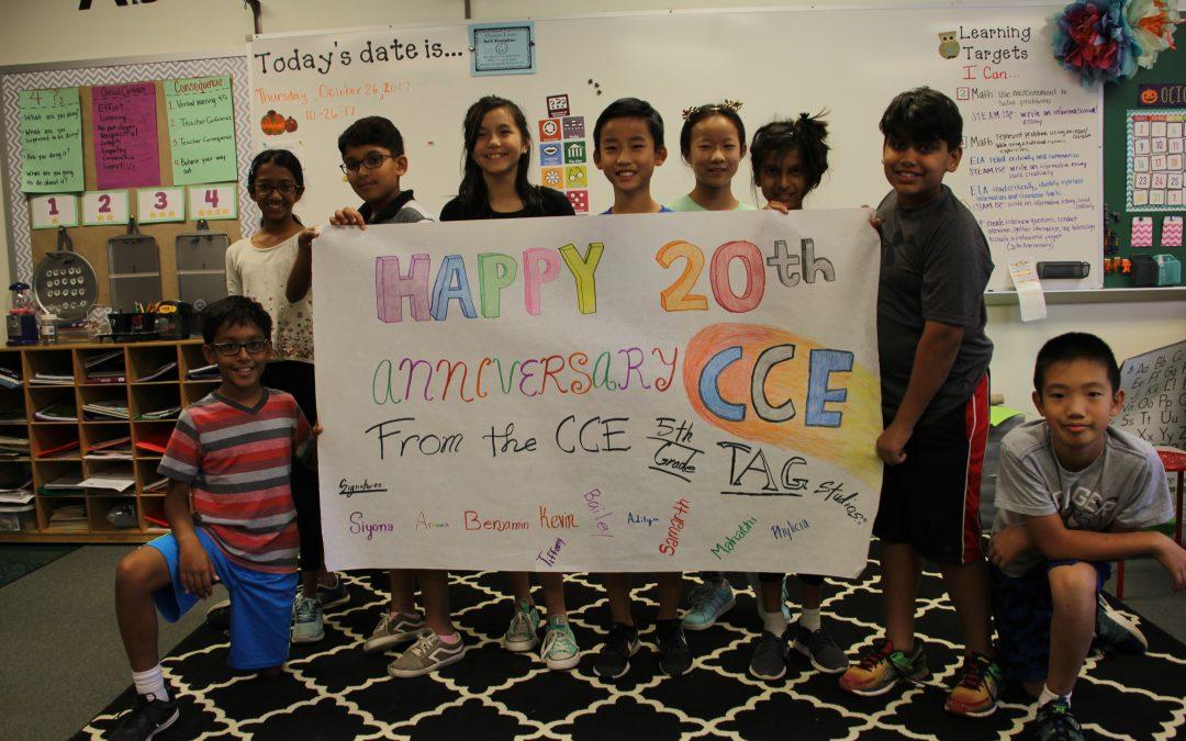 Canyon Creek Elementary's 20th Anniversary