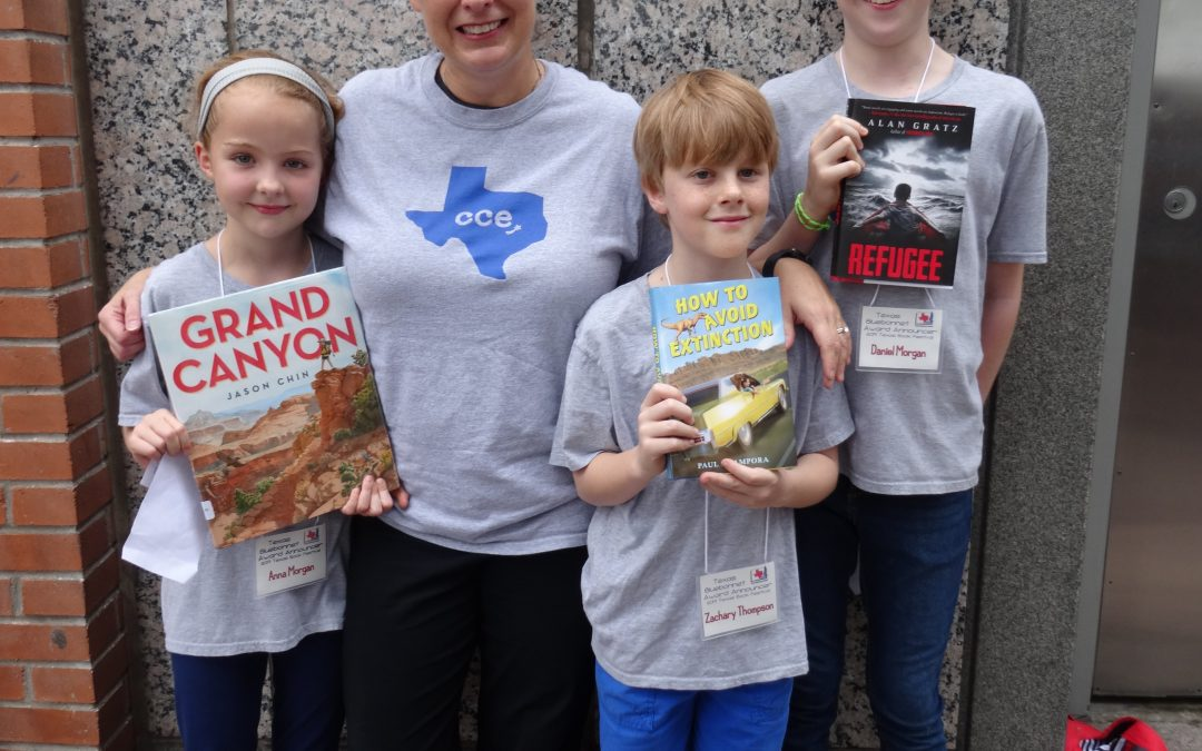 CCE Students Participate at Texas Book Festival
