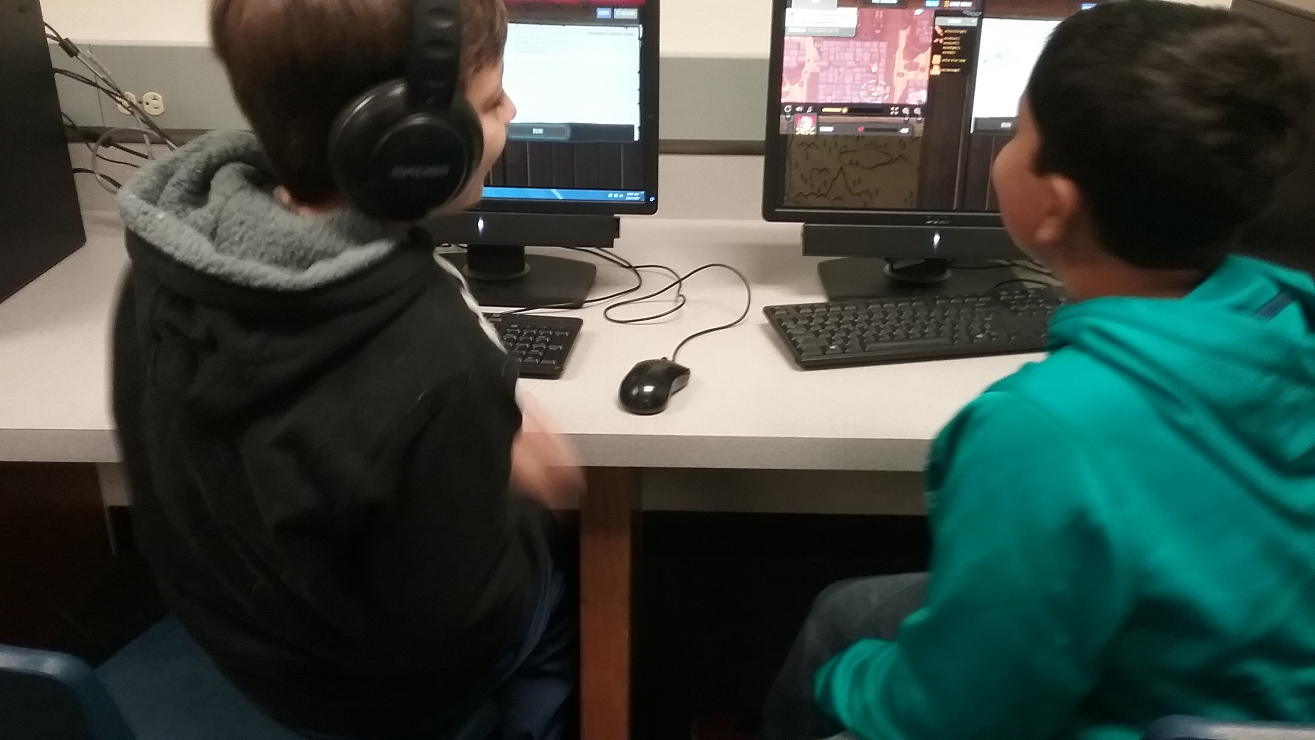 Hour of Code at GOES