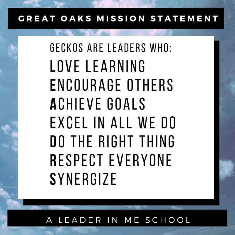 Follow Great Oaks Elementary School on Twitter!