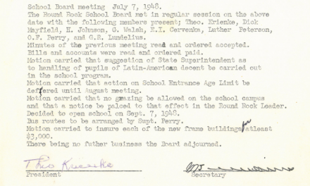 1948-07-07 No livestock on school property!