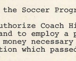 1978-10-26 Soccer program established