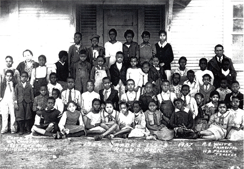 Hopewell School grades 1-3 1936-1937