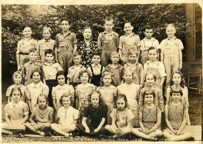 3rd grade class, 1937-1938