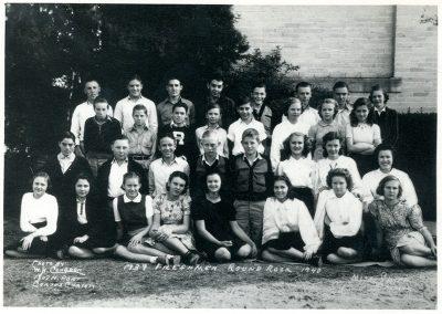Freshman class of 1939-1940