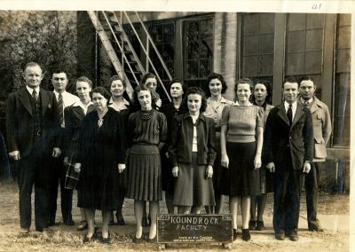 1941-42 District faculty