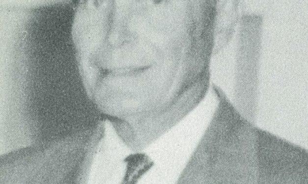 1932-05-03 Rev. Theo Krienke begins 22 years of service as Board President