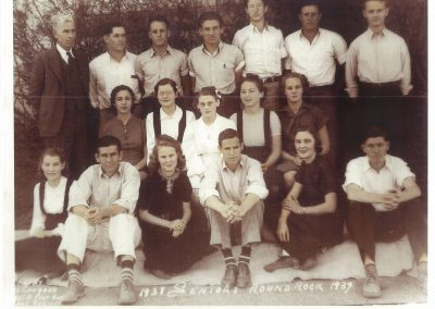 1938-39 RRHS senior class