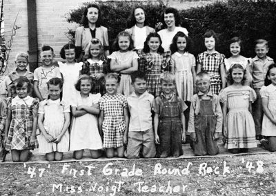 1948-49 first grade class