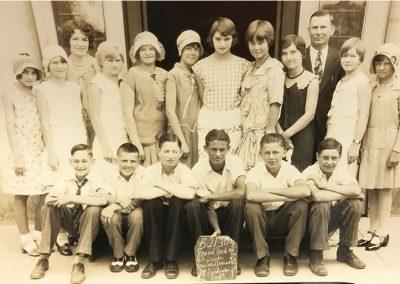 1930 7th grade class