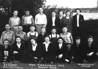 1936-37 Freshmen