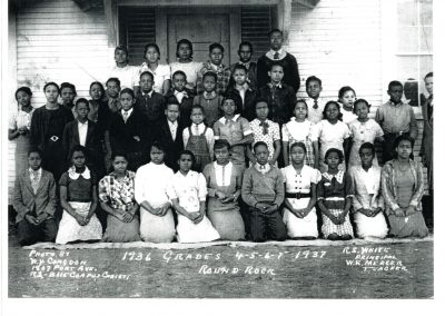 1936-37 Hopewell students