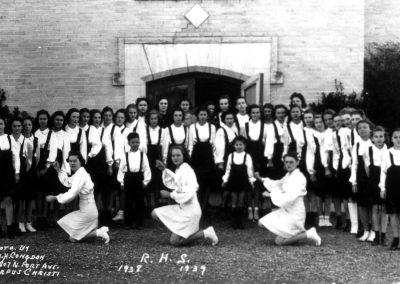 1938-39 Pep Squad