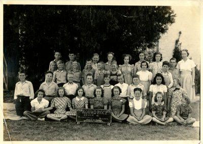 1940-41 6th grade class