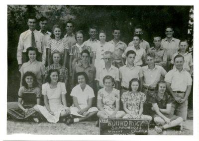 1940-41 Sophomore Class